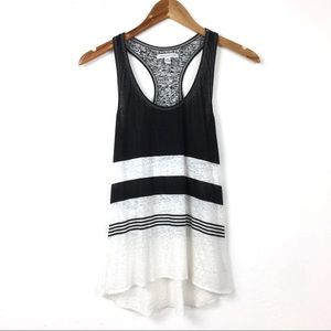American Eagle Outfitters |Striped Racer Back Tank